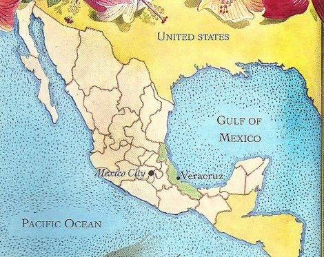 veracruz map 1